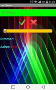 ESP8266 Android Uygulaması Resmi